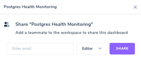 Sharing Arctype Workspace via Email