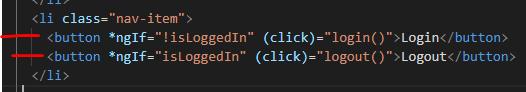 Login / Logout button.