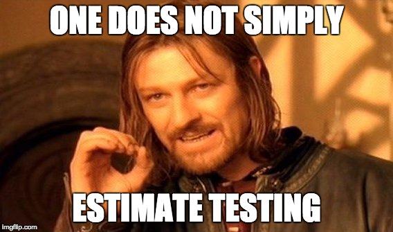 test estimation - qasymphony