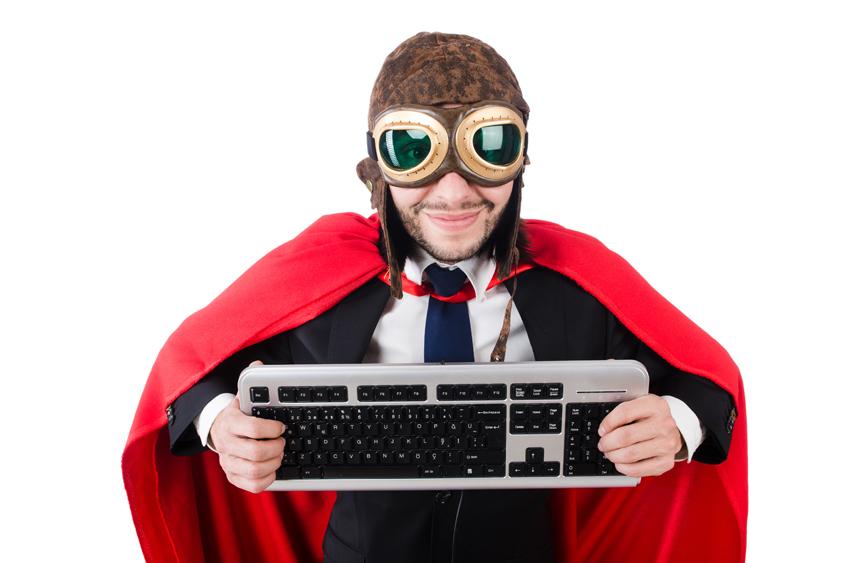 programming superhero