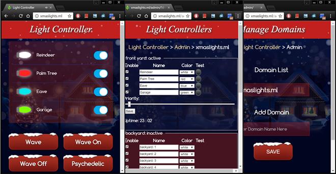 ESP8266 IoT Light Controller