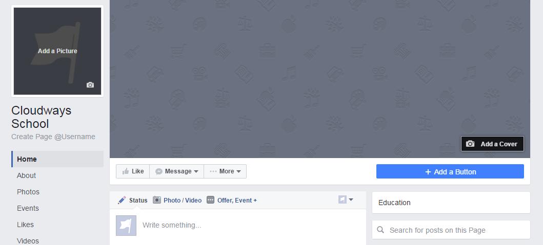 cloudways school facebook page