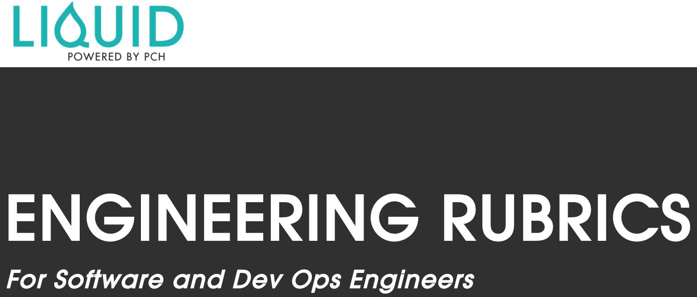 PCH / Media Engineering Rubrics