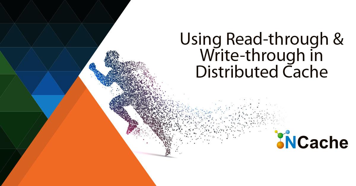 ncache - read through write through distributed cache