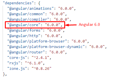 Angular6-Dependencies
