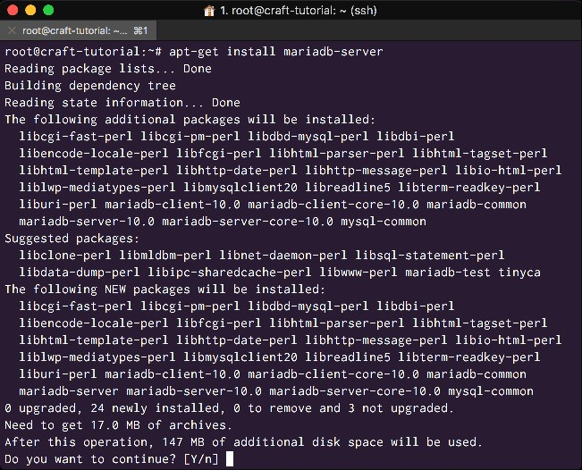 Install MariaDB as a drop in replacement for MySQL