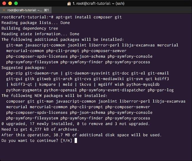 Install development workflow dependencies