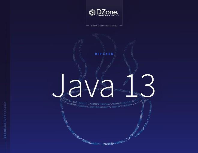 Java 13