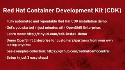 Installing the Red Hat Container Development Kit 2.2 release