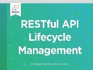 RESTful API Lifecycle Management
