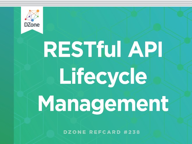 RESTful API Lifecycle Management