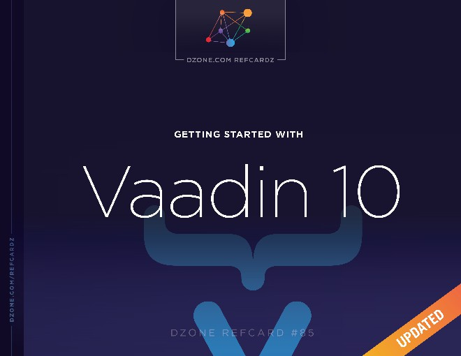 Getting Started With Vaadin 10